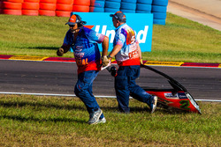 Marshalls remove Garth Tander's door