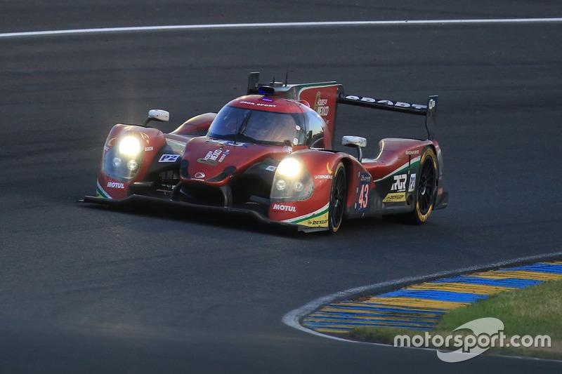15e: #43 RGR Sport by Morand Ligier JSP2 Nissan: Ricardo Gonzalez, Filipe Albuquerque, Bruno Senna