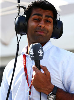 Karun Chandhok, Channel 4 Technical Analyst
