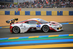 #71 AF Corse, Ferrari 458 Italia GT3: Felipe Barreiros, Mads Rasmussen