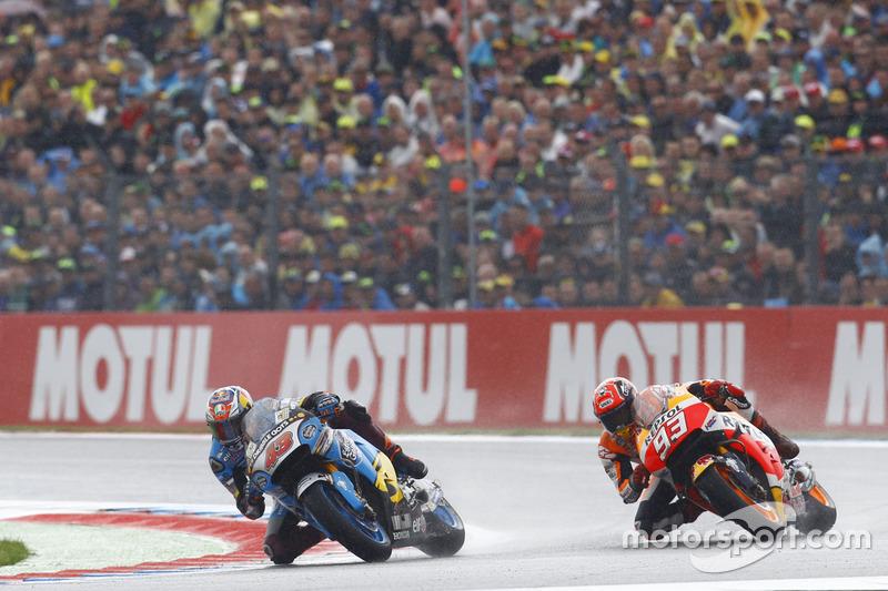 Marc Márquez, Repsol Honda Team y Jack Miller, Marc VDS Racing Honda