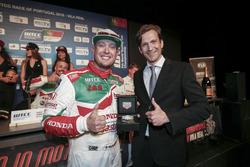 Rob Huff, Honda Racing Team JAS, Honda Civic WTCC dan Stephane Pichavant