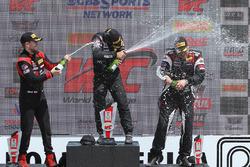 GTA podyum: 1. Frankie Montecalvo, 2. Michael Schein, 3. Andy Wilzoch