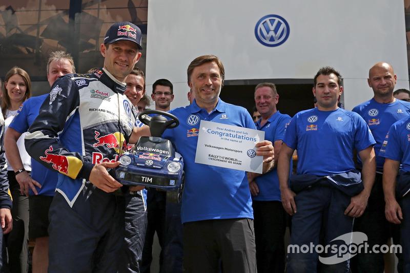 Sébastien Ogier, Volkswagen Polo WRC, Volkswagen Motorsport con Jost Capito, Volkswagen Motorsport Director