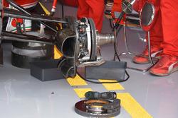 Ferrari front brake assembly
