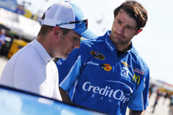 Jamie McMurray, Chip Ganassi Racing Chevrolet, Matt McCall