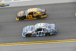 Brennan Poole, Chip Ganassi Racing Chevrolet, Brendan Gaughan, Richard Childress Racing Chevrolet