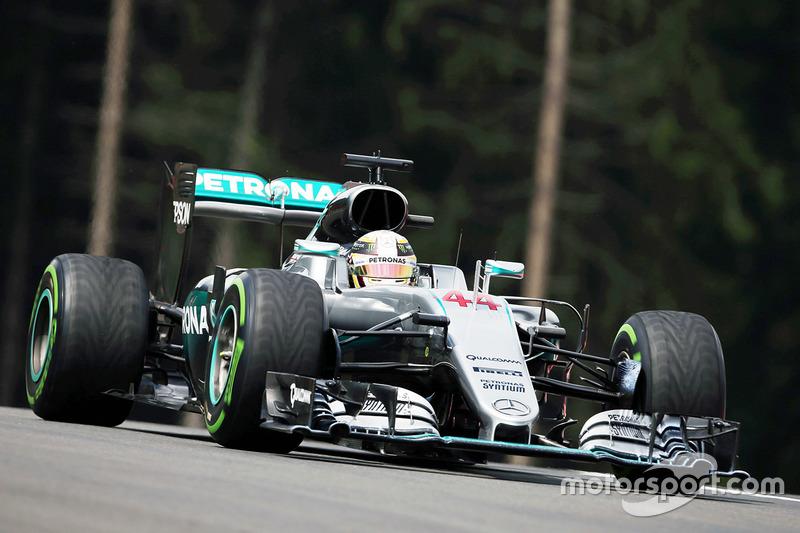 Österreich, Spielberg: Lewis Hamilton (Mercedes)