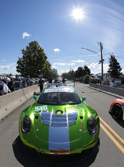 #540 Black Swan Racing Porsche GT3 R: Тім Паппас, Нікі Катсбург, Енді Пілгрім