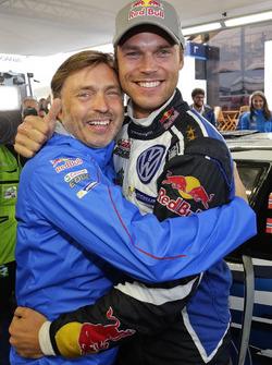Andreas Mikkelsen, Volkswagen Polo WRC, Volkswagen Motorsport bersama Jost Capito, Volkswagen Motorsport Director