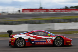 #55 AF Corse, Ferrari 458 Italia GT3: Claudio Sdanewitsch, Stéphane Lemeret