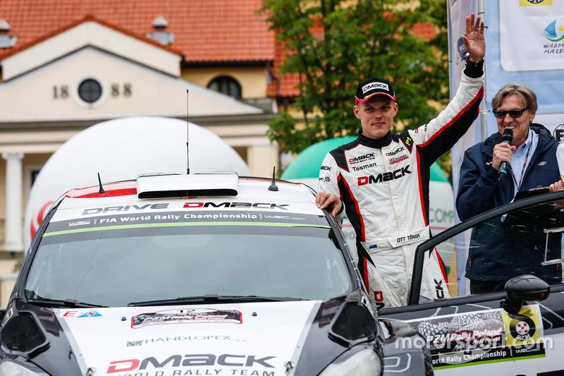 Отт Тянак, DMACK World Rally Team