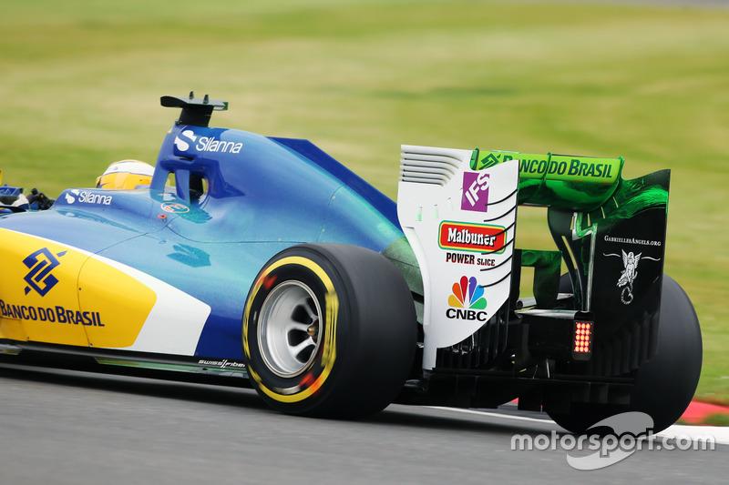 Marcus Ericsson, Sauber C35 met flow-vis verf