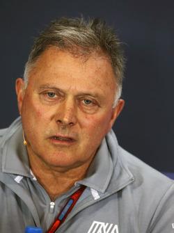 Dave Ryan, directeur de la compétition Manor Racing lors de la conférence de presse de la FIA