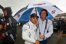 Felipe Massa (BRA) Williams on the grid
