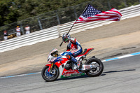 Tercero, Nicky Hayden, Honda World Superbike Team celebra
