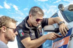Pedro de Uriarte ve Jose Eduardo Vanzzini, Dakar Team