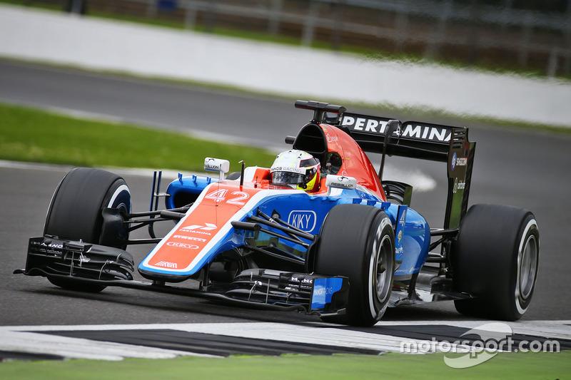 Jordan King, Manor Racing MRT05 Piloto de desarrollo