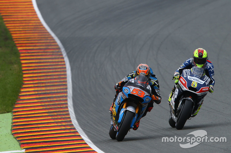 Tito Rabat, Marc VDS Racing Honda e Hector Barbera, Avintia Racing