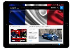 إعلان النسخة الفرنسية من موتور1.كوم