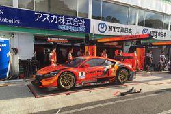 #8 Autobacs Racing Team Aguri Honda NSX Concept GT: Kosuke Matsuura, Tomoki Nojiri