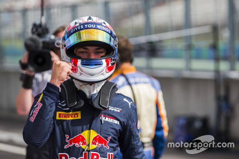 Pole position pour Pierre Gasly, PREMA Racing