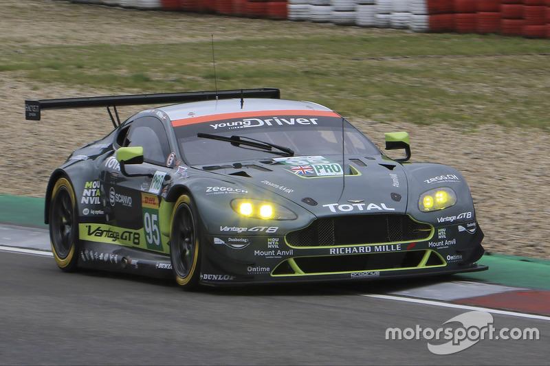 1. LMGTE-Pro: #95 Aston Martin Racing Aston Martin Vantage GTE
