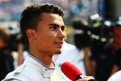 Pascal Wehrlein, Manor Racing, mit den Medien
