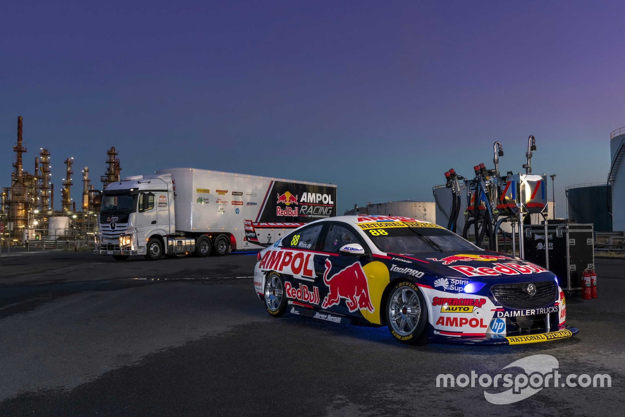 Red Bull Ampol Racing's 2021 Supercars challenger