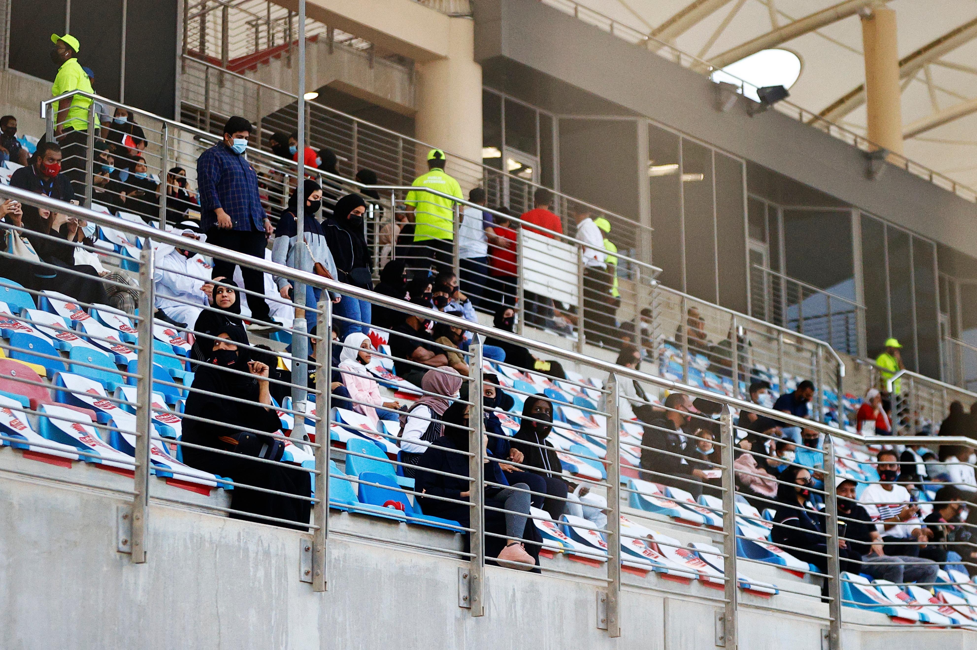 Bahrain GP fans 2020