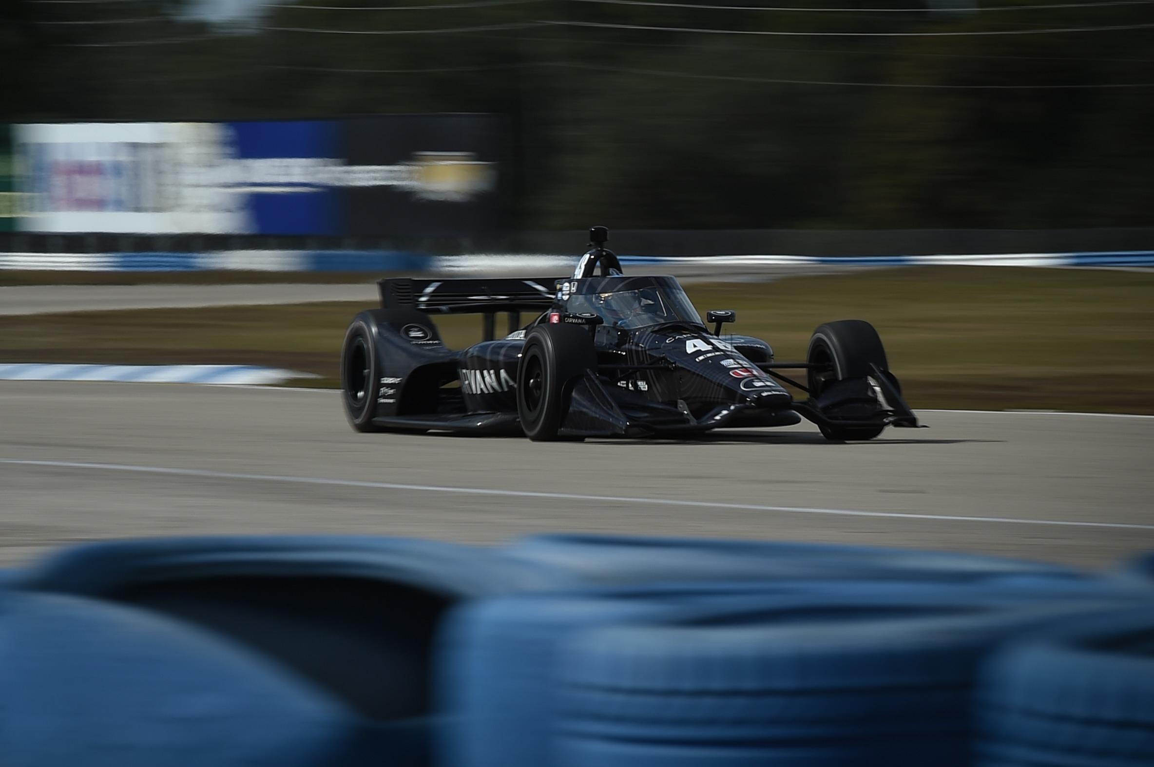 Jimmie Johnson 2021 IndyCar Sebring test