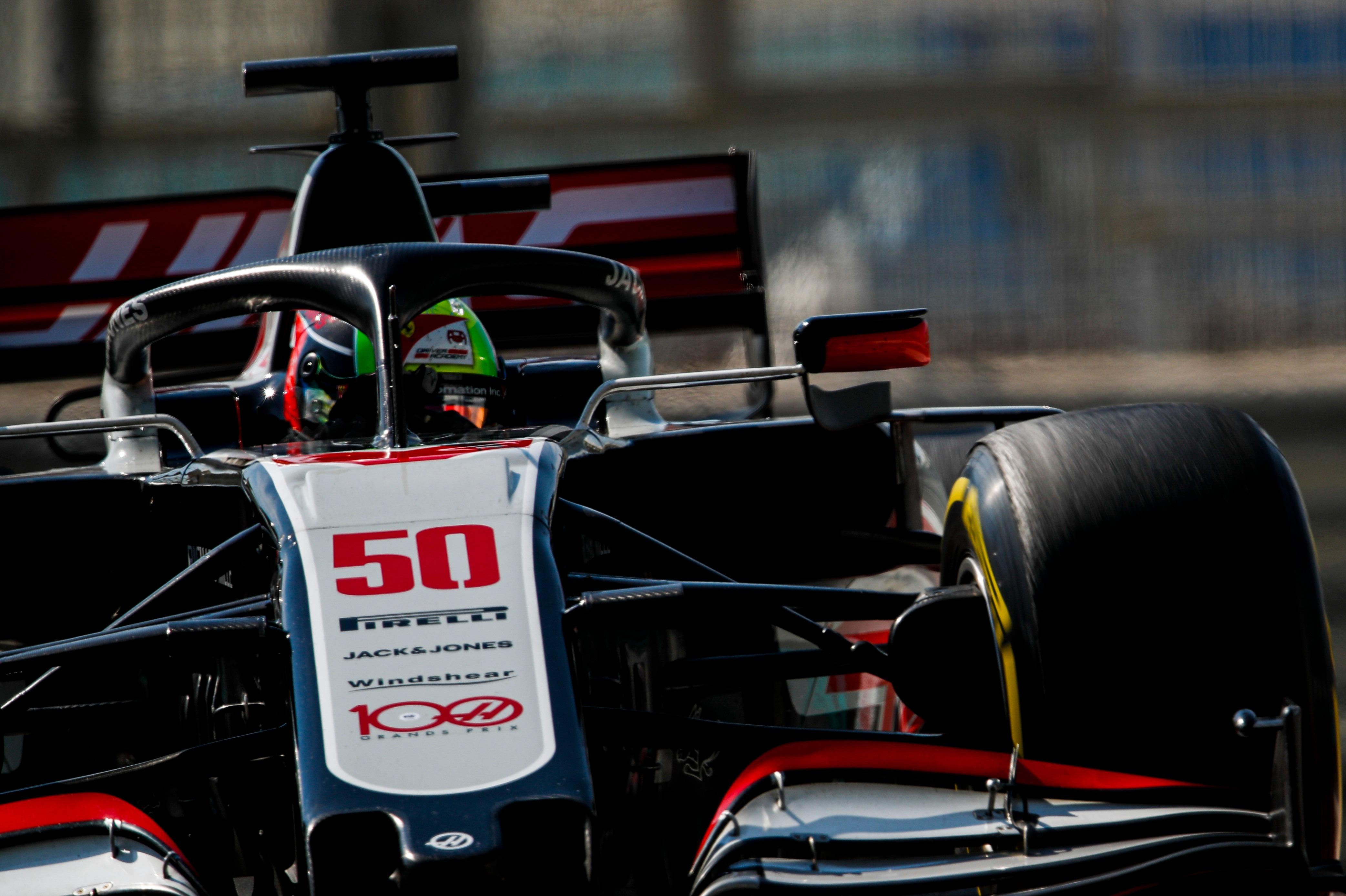 Mick Schumacher Abu Dhabi F1 test 2020