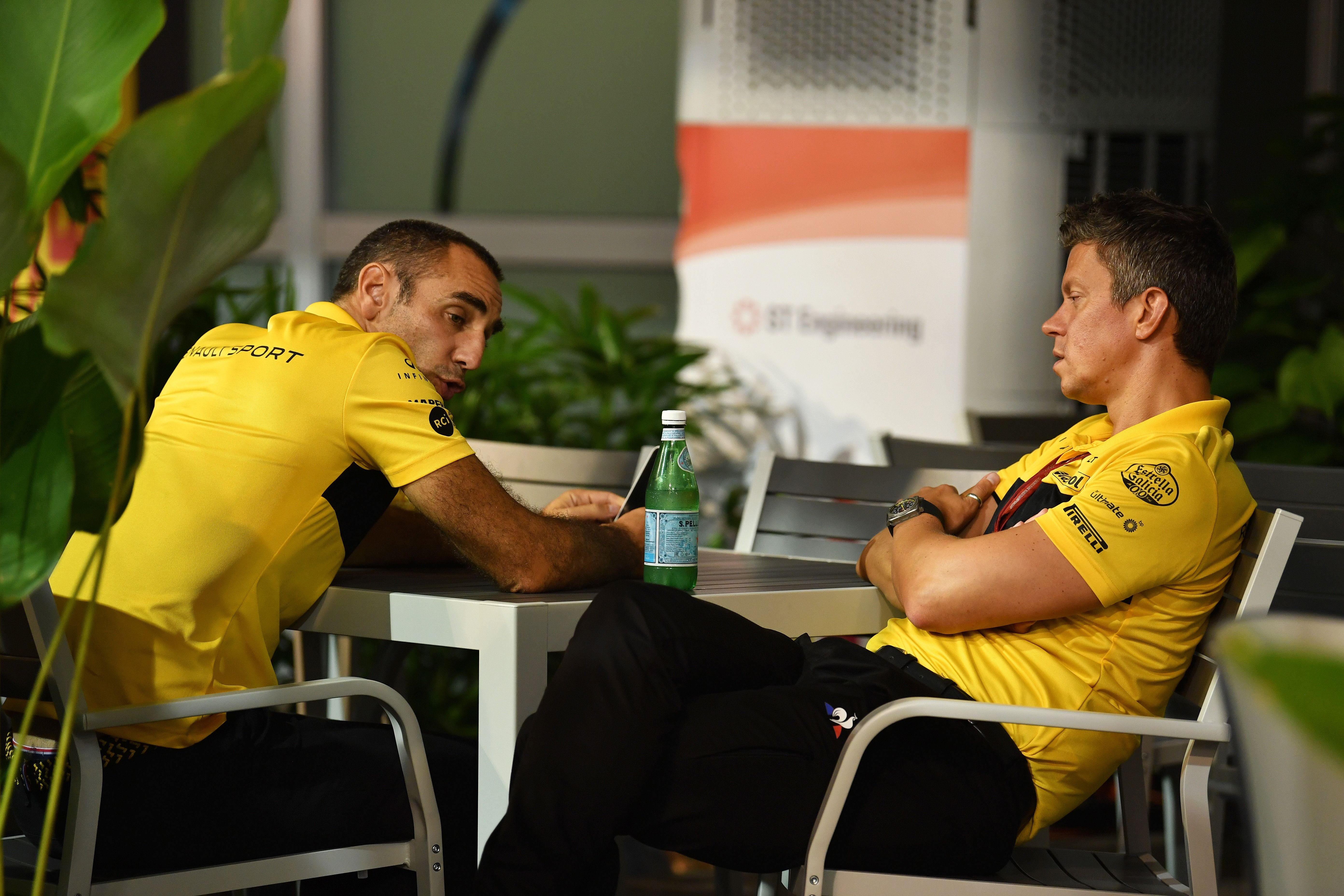 Abiteboul and Budkowski Renault F1 team 2018