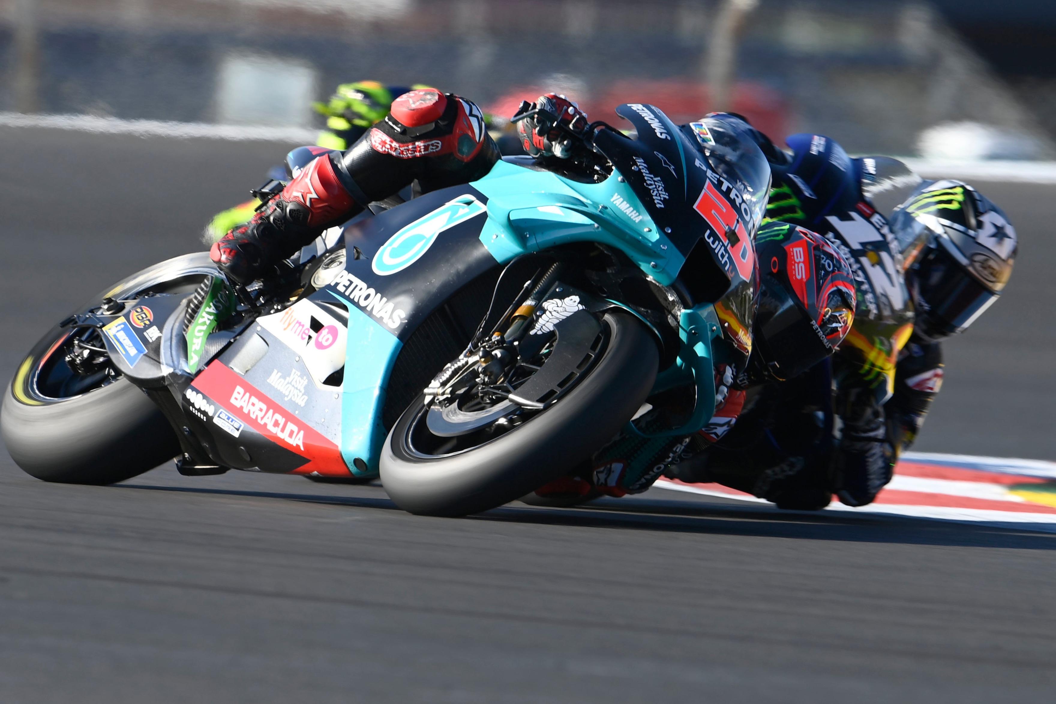 Maverick Vinales, Fabio Quartararo 2020 MotoGP Portuguese GP
