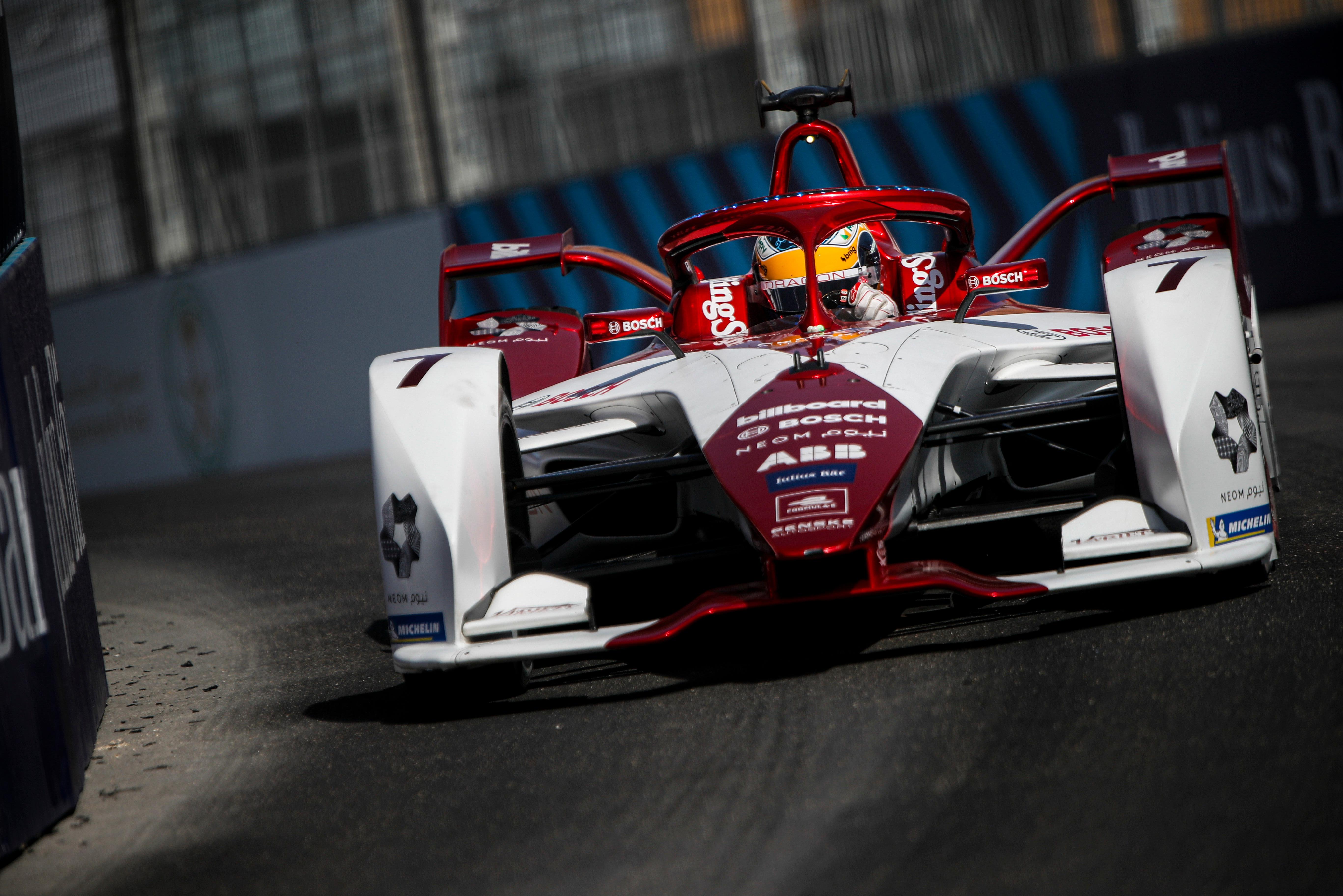 Sergio Sette Camara, Dragon Penske, 2021 Formula E Diriyah E-Prix