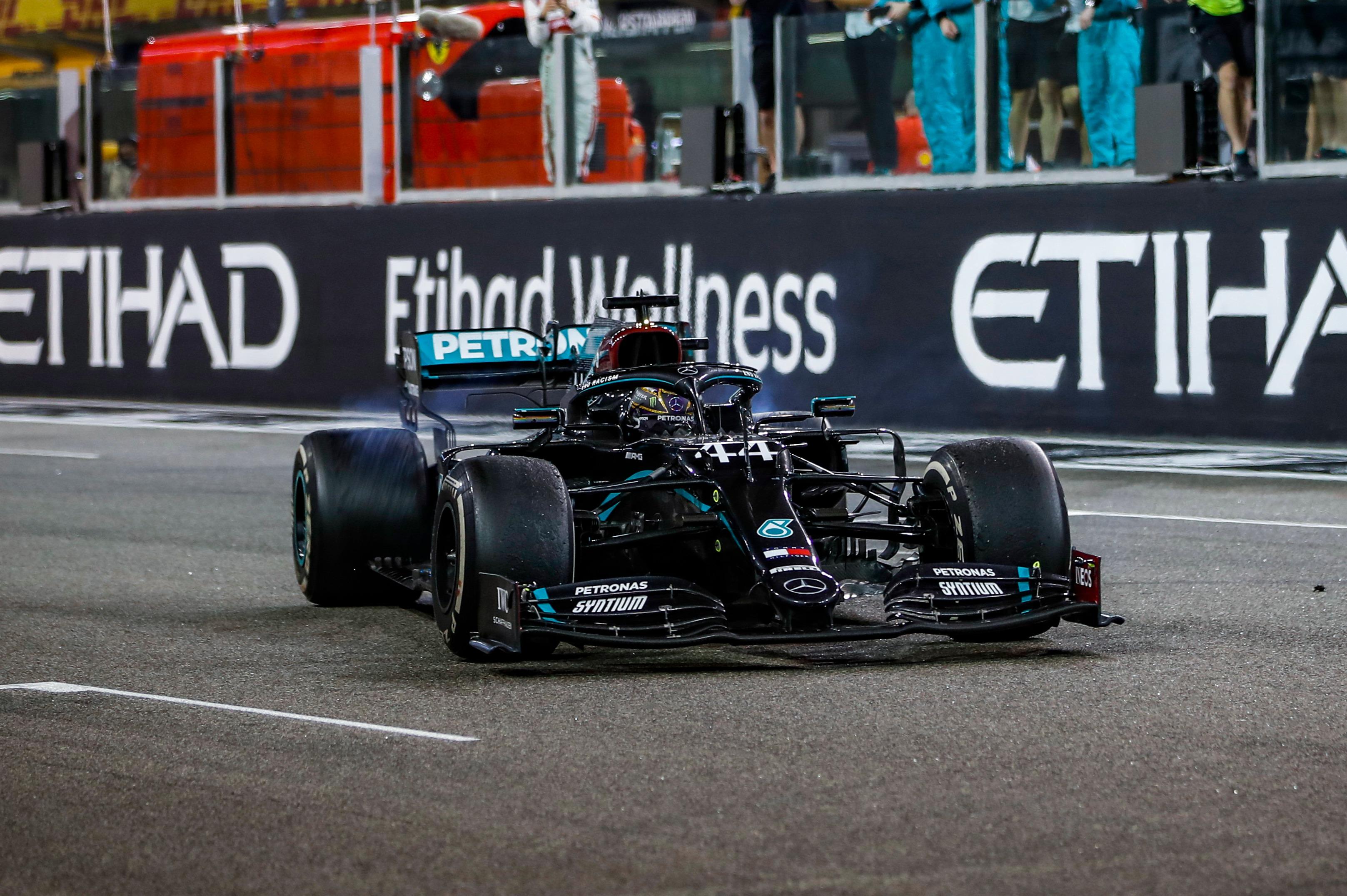 Lewis Hamilton, F1 Abu Dhabi Grand Prix 2020