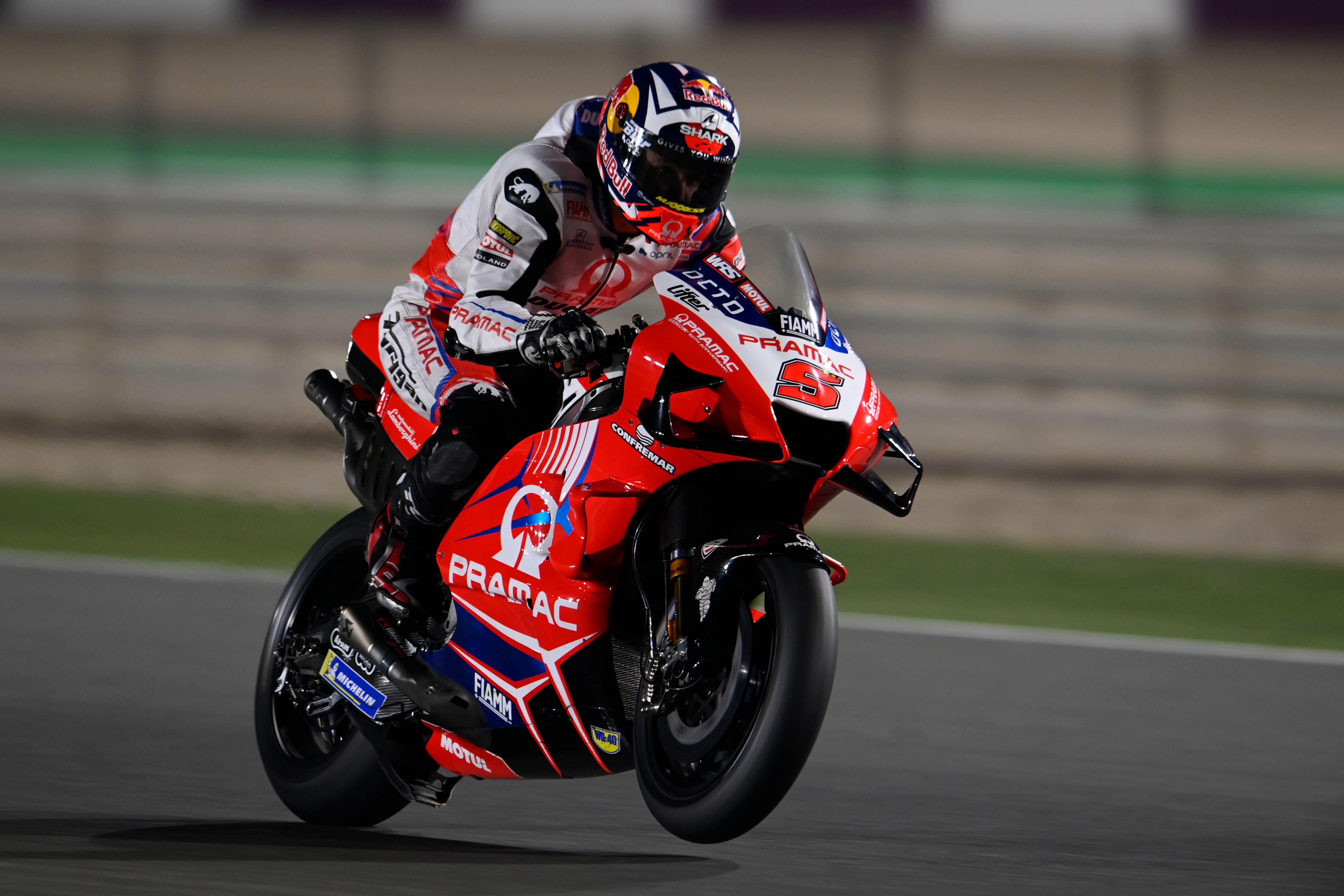 Johann Zarco, Pramac Ducati, Qatar pre-season test