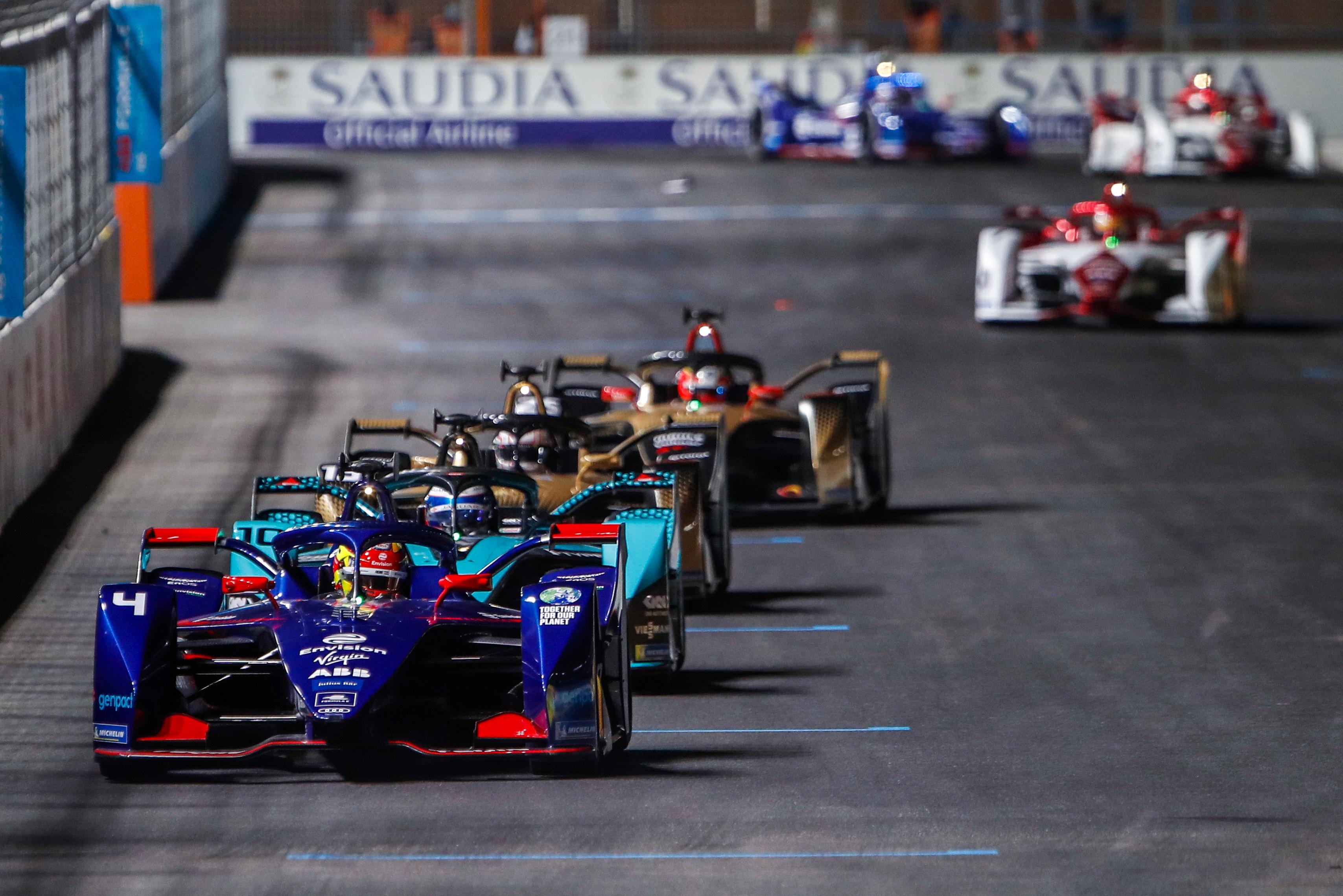 Robin Frijns, Formula E Diriyah E-Prix 2021