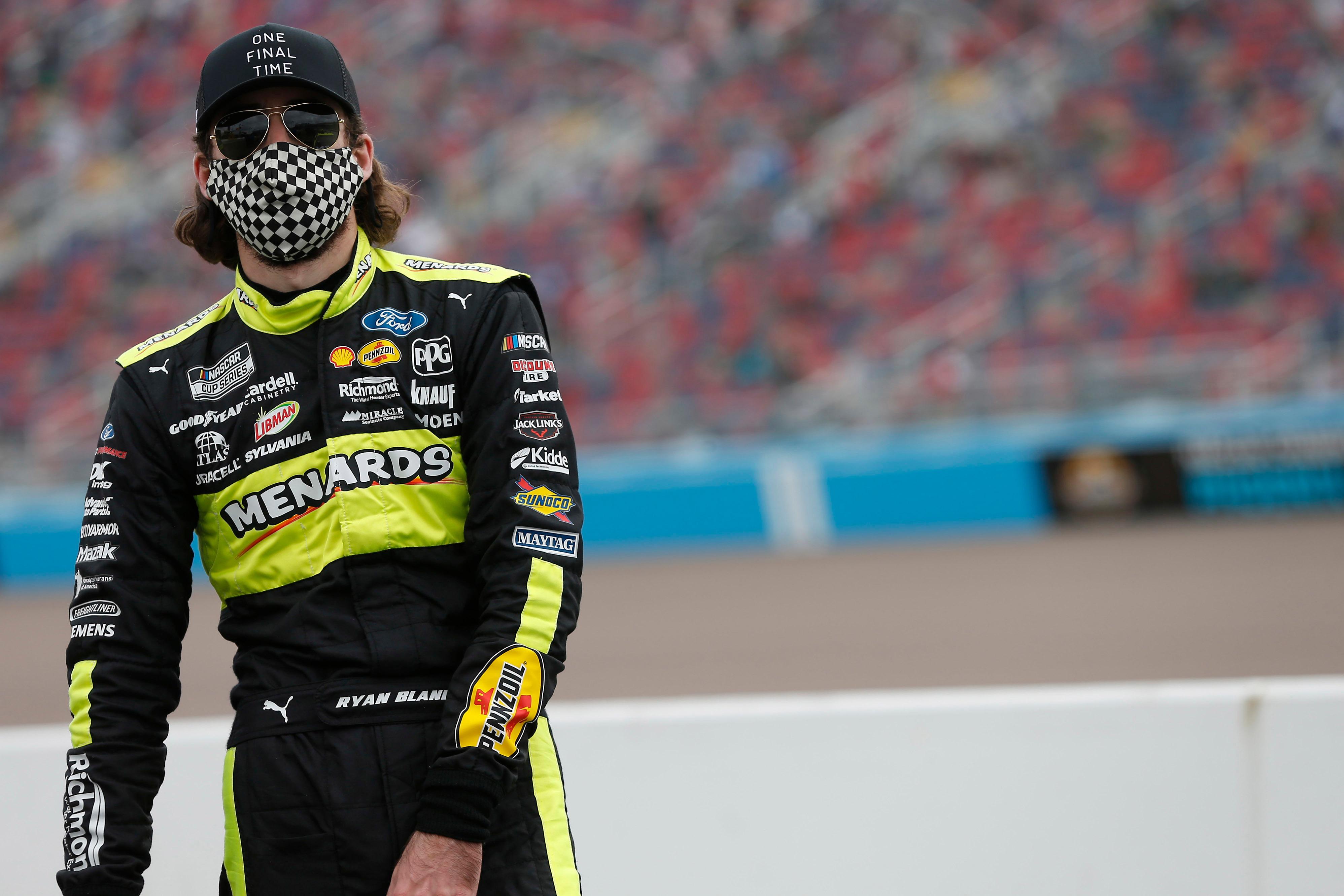 Ryan Blaney NASCAR Cup 2020 Phoenix