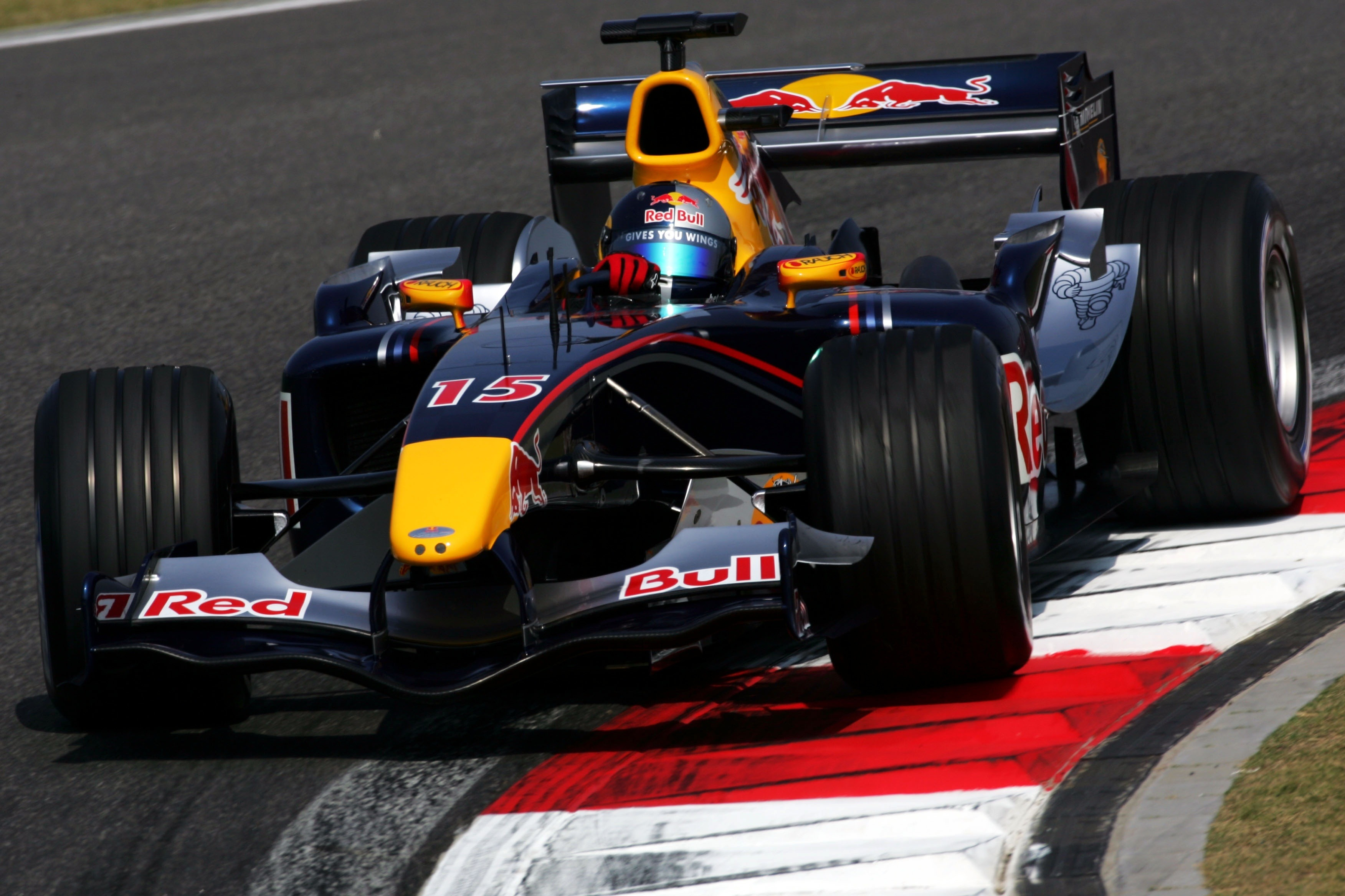 Christian Klien 2005 Chinese Grand Prix, Red Bull