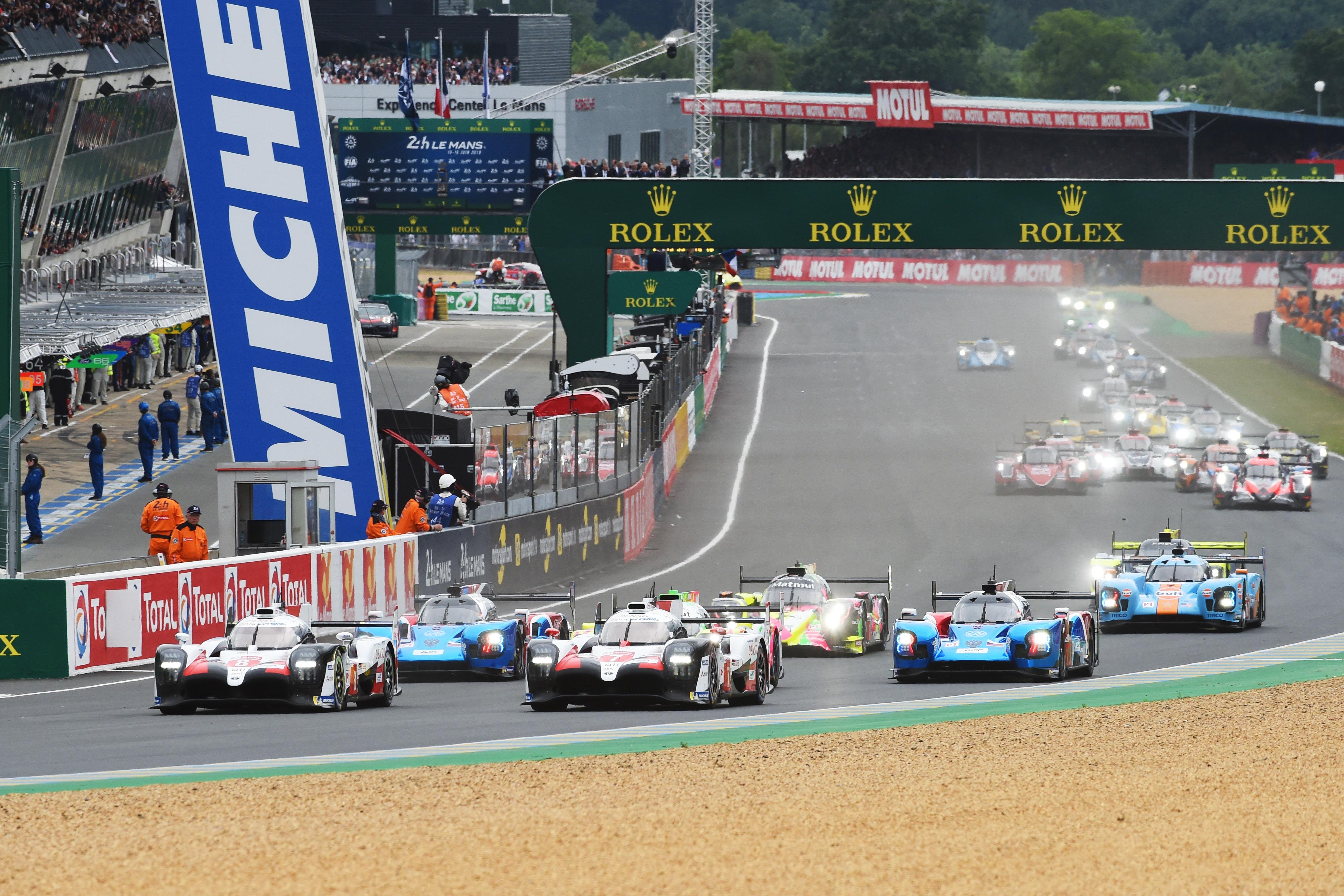 2019 Le Mans 24 Hours start