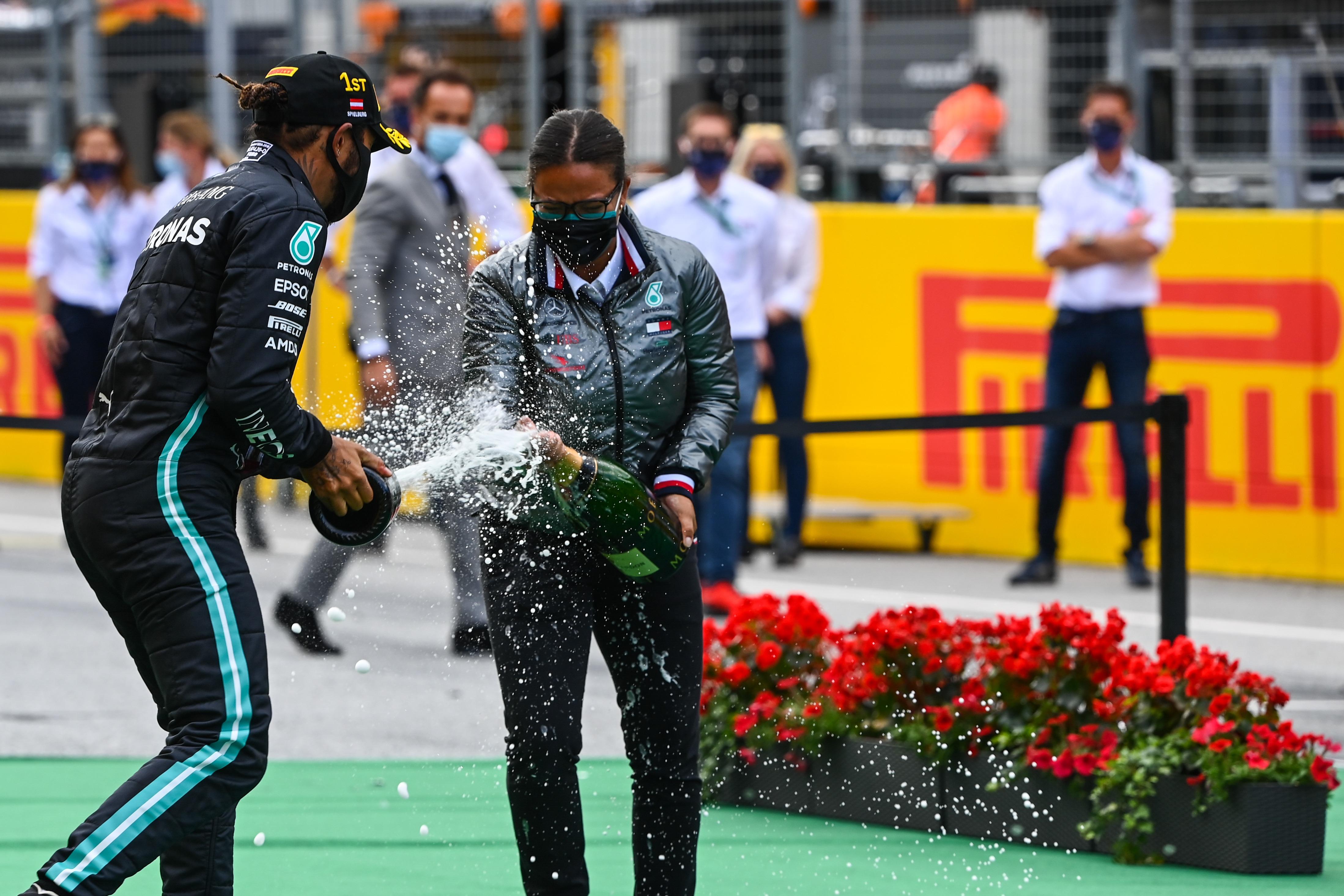 Lewis Hamilton, GP de Estiria 2020