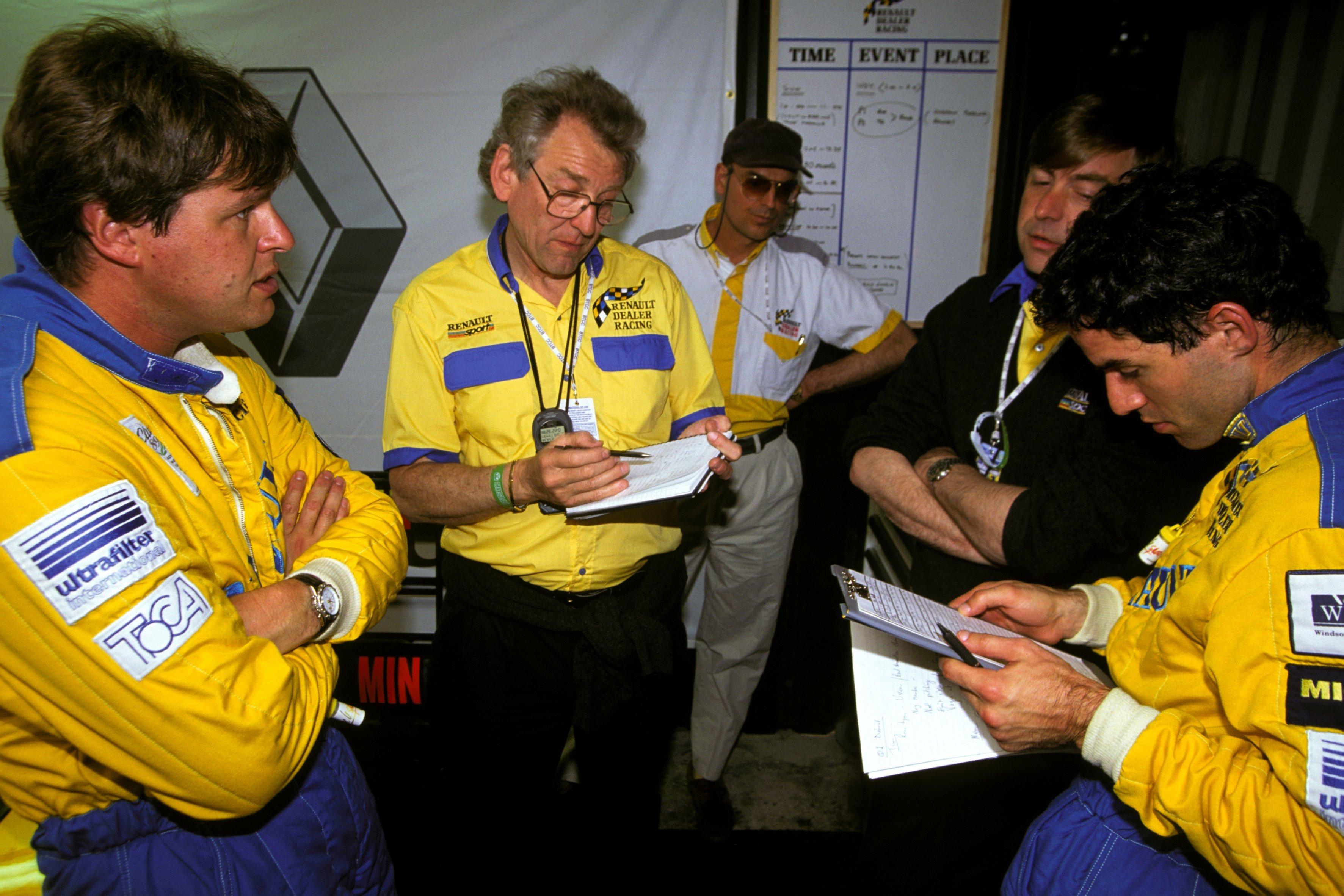Tim Harvey, Keith Greene, Alain Menu Renault BTCC 1994
