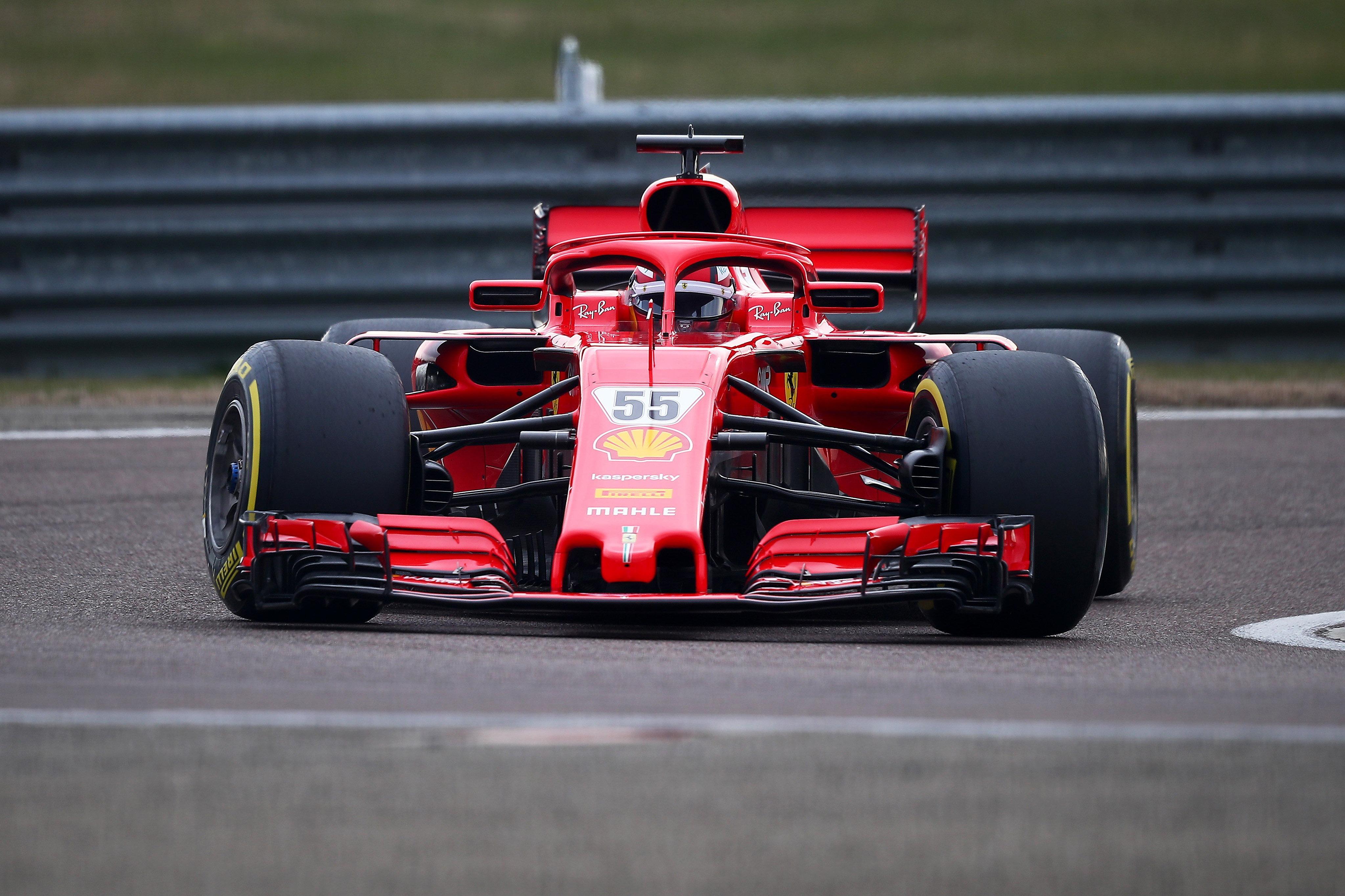 Carlos Sainz Jr, Ferrari F1 test, Fiorano 2021