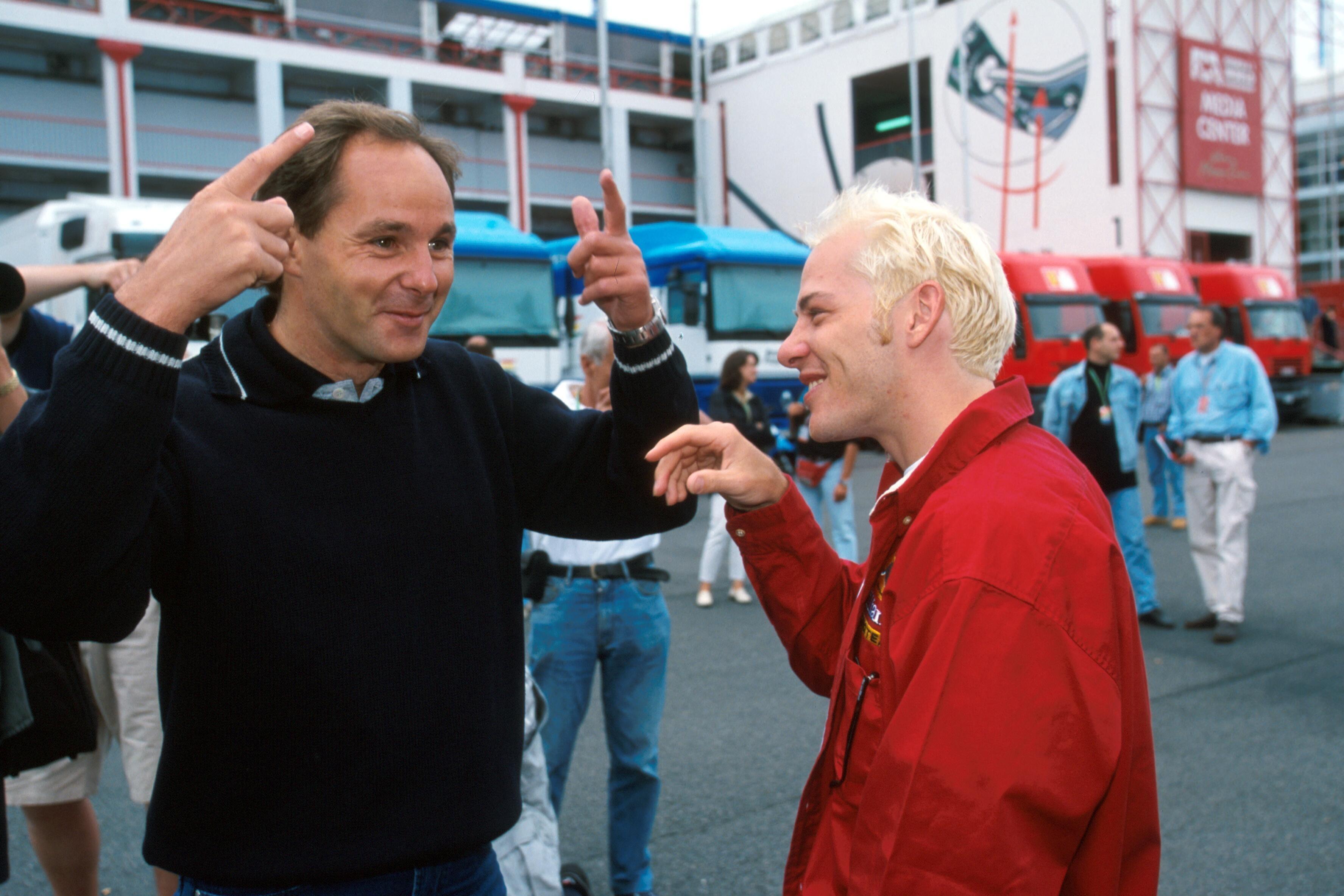 Gerhard Berger, Jacques Villeneuve, Formula 1 1998