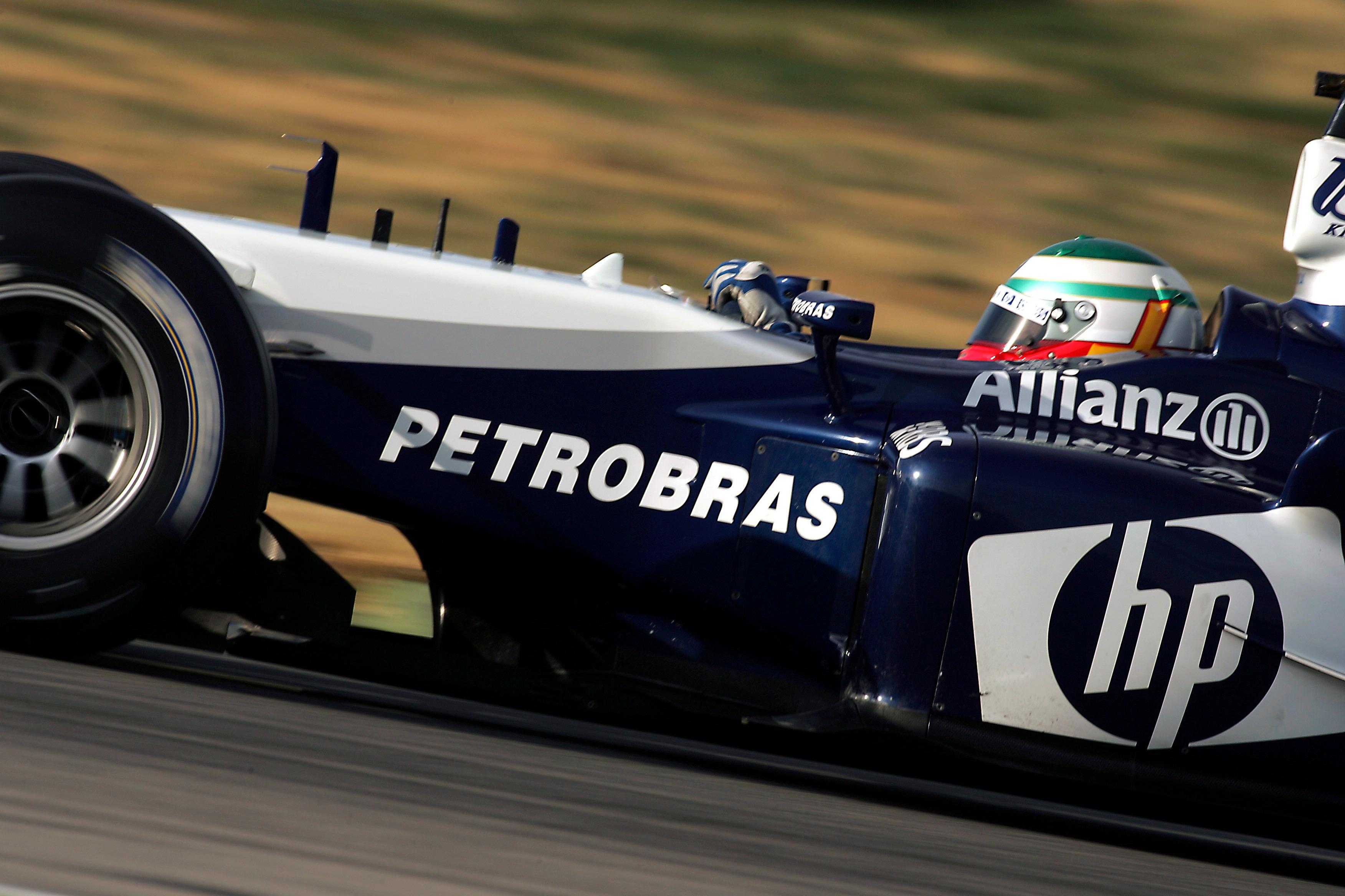 Andy Priaulx Williams F1 test 2005
