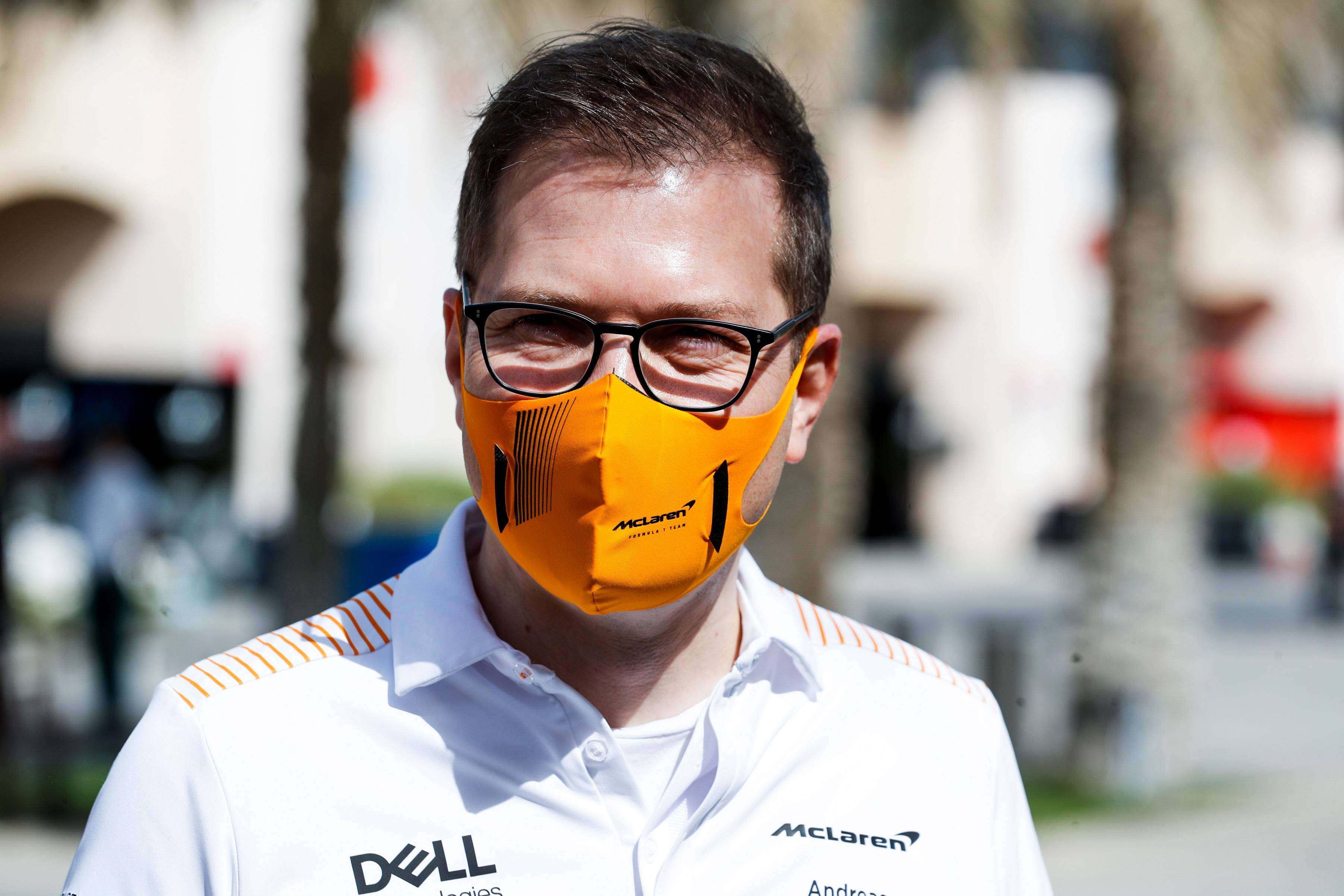 Andreas Seidl McLaren Bahrain 2021