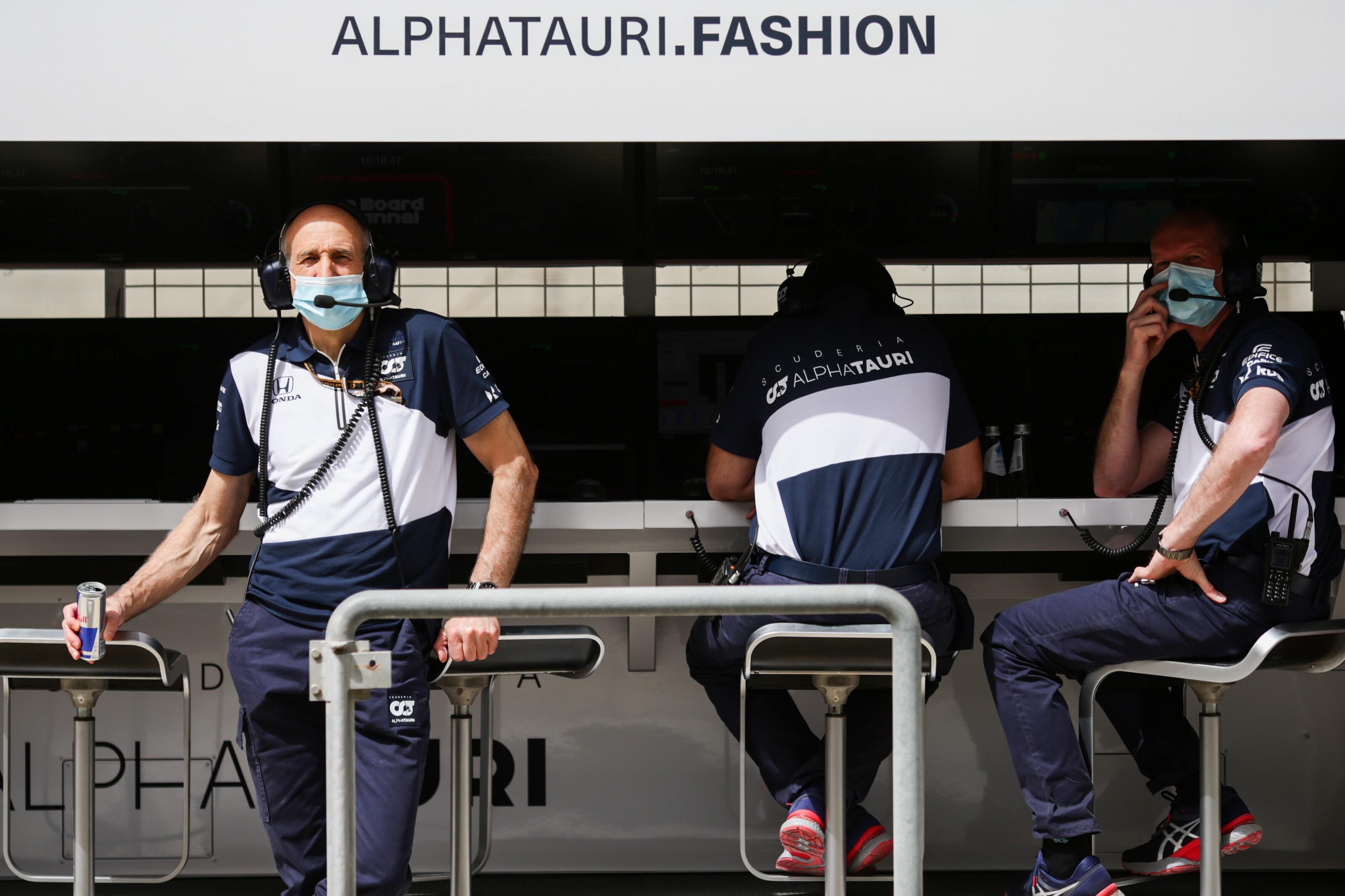Franz Tost AlphaTauri Bahrain F1 test 2021