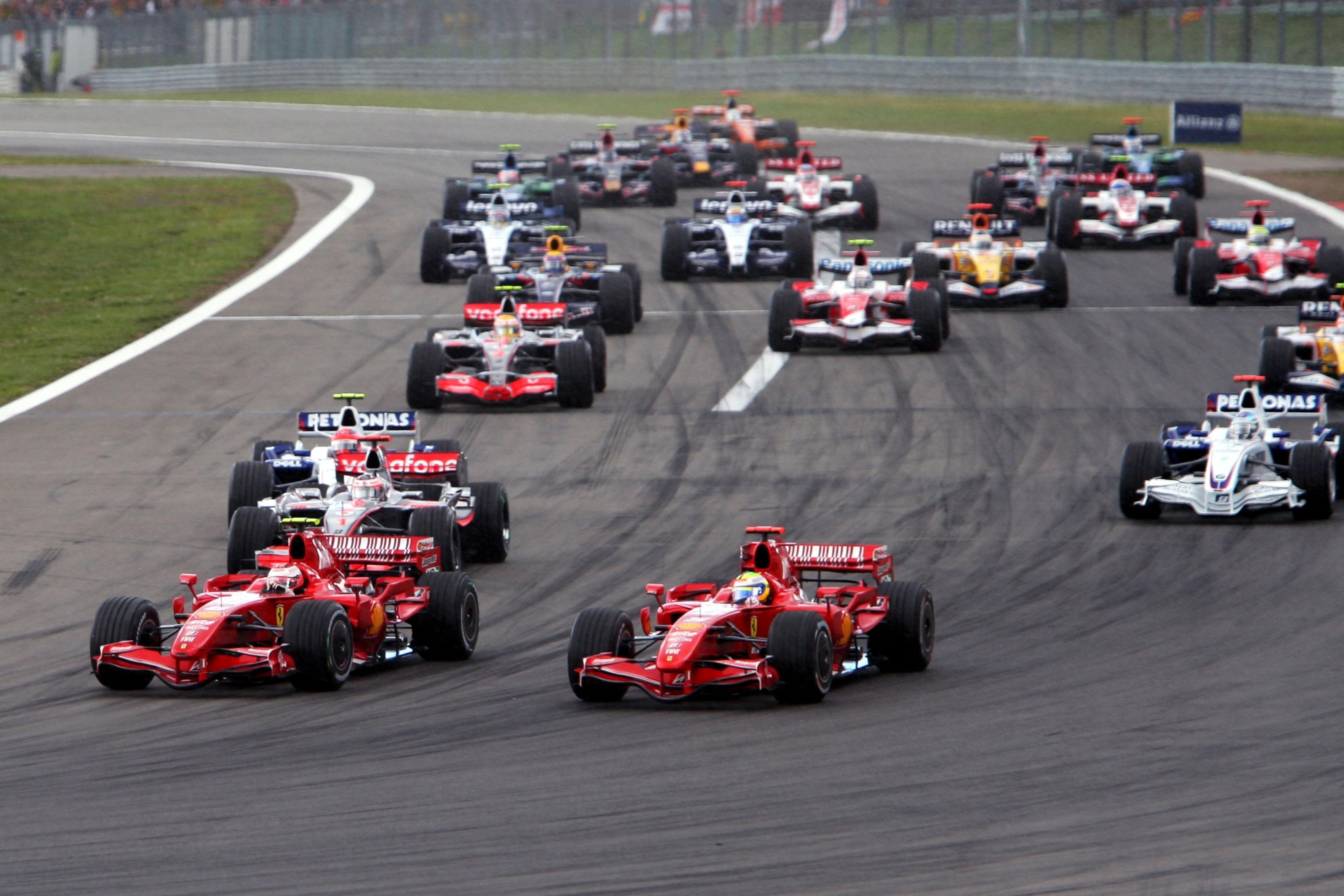 2007 European Grand Prix start