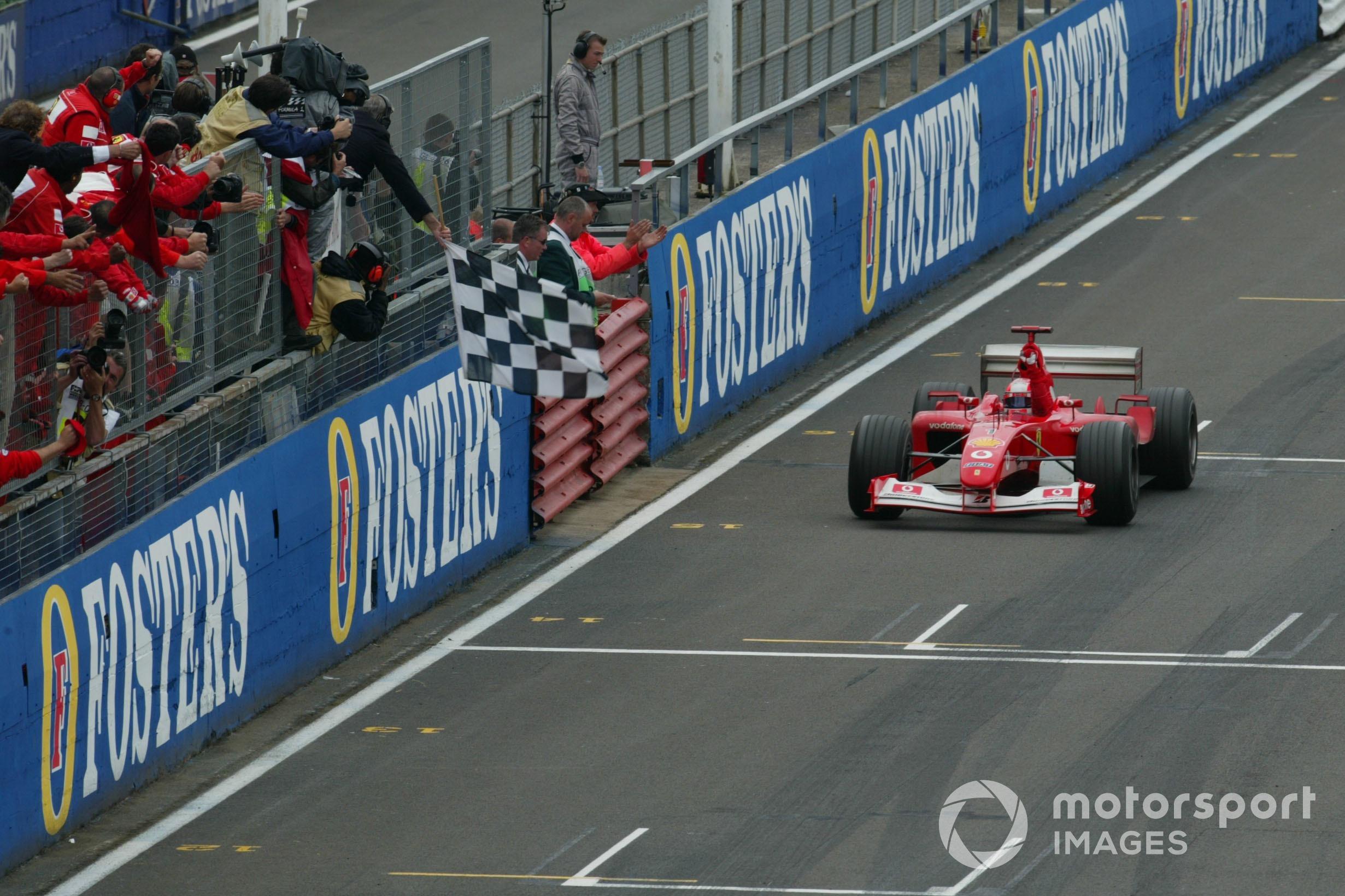 Walker retired from commentating just as Schumacher dominance got under way